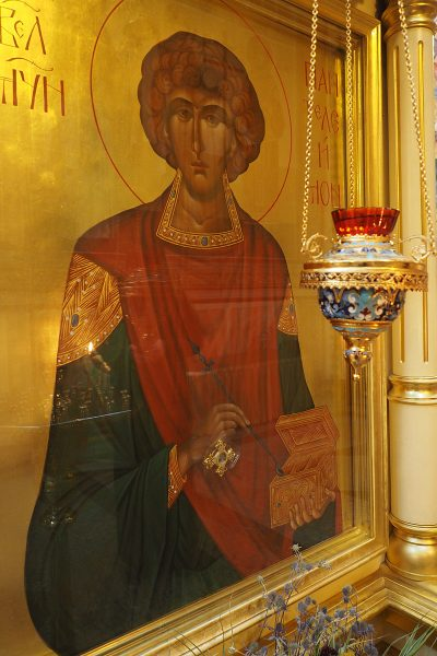 Икона св. Пантелеймона Фото Д.Линникова (Москва)