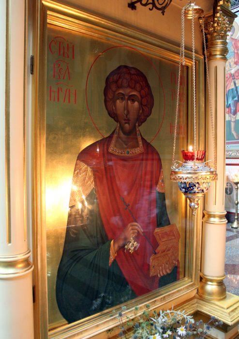 Икона св. Пантелеймона