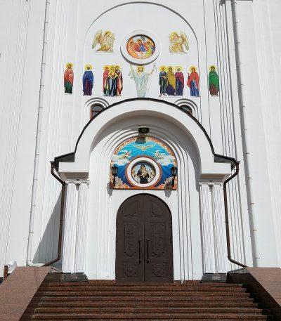 Южная стена собора